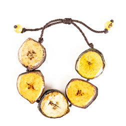 Pulsera de Banano Grande - Natural