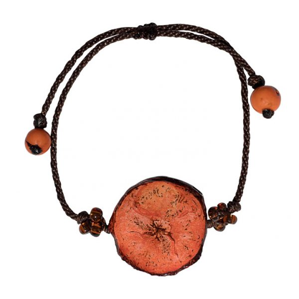 Pulsera de Banano Simple - Naranja